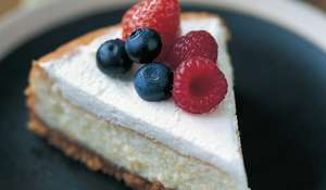 Blueberry and Summer Fruit Cheesecake