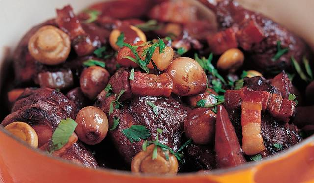 Raymond Blanc S Classic Coq Au Vin The Happy Foodie