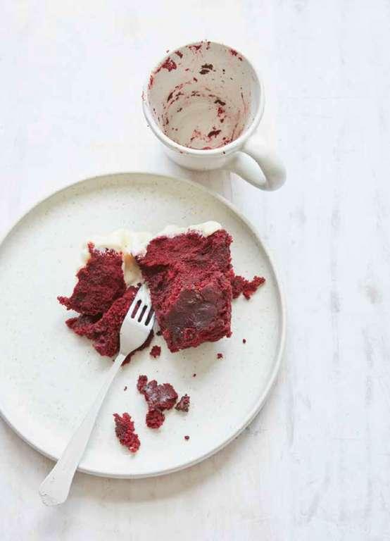 Six-minute Red Velvet Mug Cake