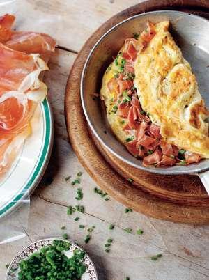 Bayonne Ham Omelette