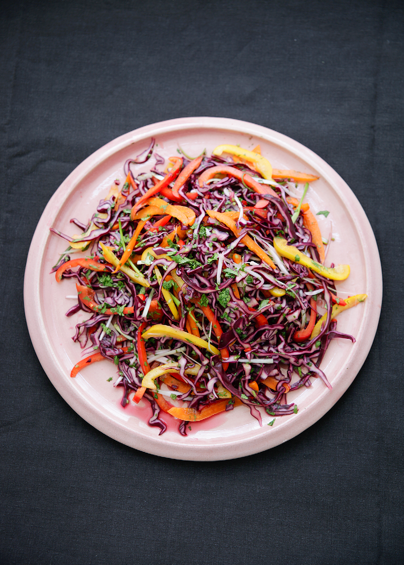 best indoor picnic recipes sweet and sour slaw simply nigella feel good food nigella lawson