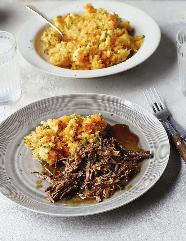 what to eat and drink in january beef shin stew root veg mash eat well for less everyday