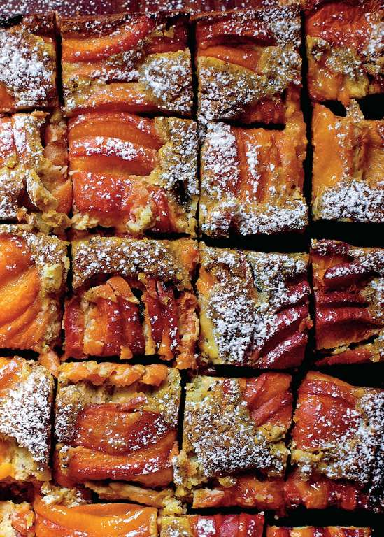 Apricot Pistachio Squares