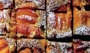 Apricot Pistachio Squares | Traybake Recipes