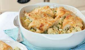 Mary Berry's Smoked Haddock and Cauliflower Gratin