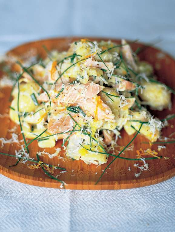 Smoked Trout, Horseradish and New Potato Salad