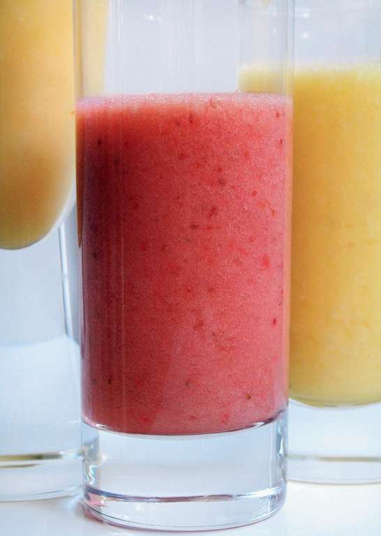 Fruity Omega Smoothies: Strawberry and Banana