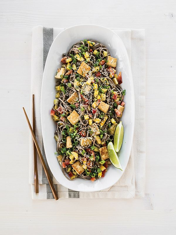 soba noodle salad - Best Asian Salad Recipes for this Summer | Burmese, Thai, Japanese