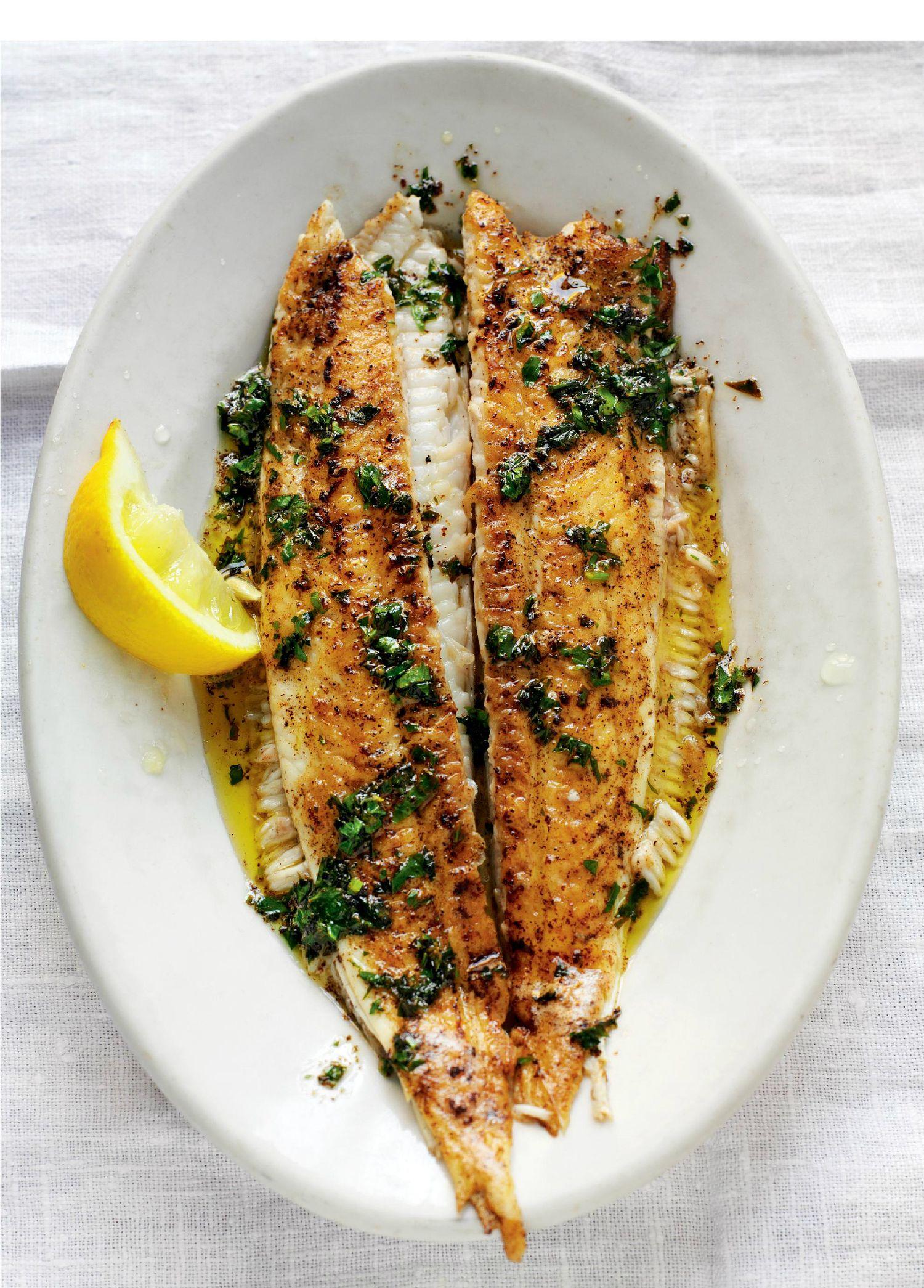 Dover sole a la meuni re the happy foodie for Dover sole fish