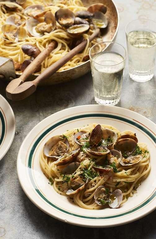 Spaghetti Vongole with Kombu