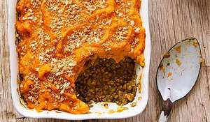 Spiced Sweet Potato Shepherd's Pie | Vegan Recipes