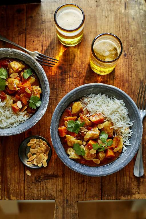 Spicy Chicken and Sweet Potato Curry