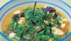 Jamie Oliver's Spring Minestrone Recipe