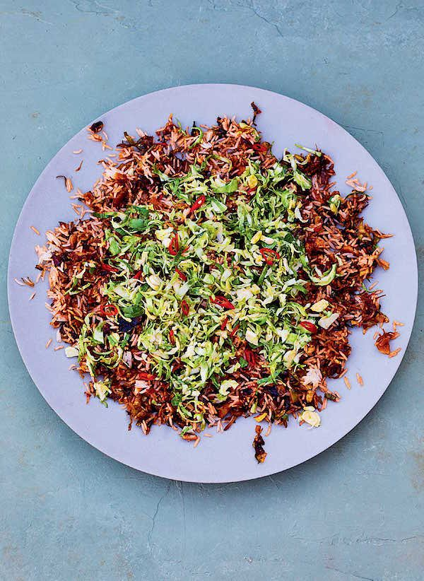 brilliant Brussels sprout recipes to try this winter sprout nasi goreng meera sodha east