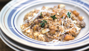 Jamie Oliver's Family Super Food Squash & Sausage Risotto