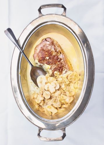 Steak Diane from Tim Hayward's The DIY Cook