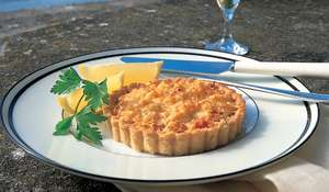 Crab and Gruyère Tartlets