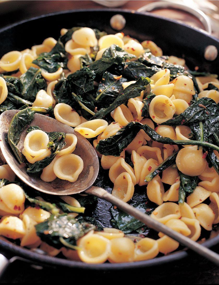 Rick Stein Orecchiette Pasta with Cavalo Nero | Recipe