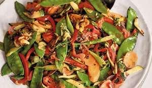 Nadiya Hussain's Indian Five-Spice Vegetable Stir Fry Recipe