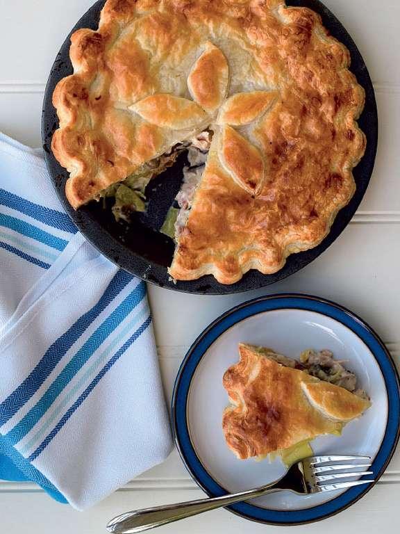 Leftover Roast Chicken Pie