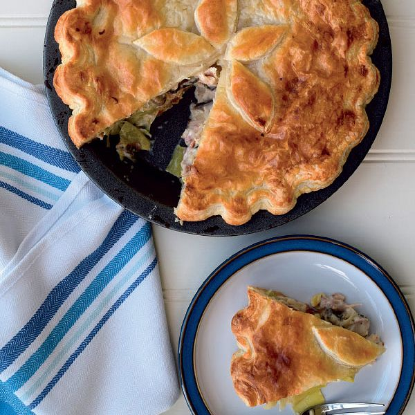 Leftover Roast Chicken Pie Recipe