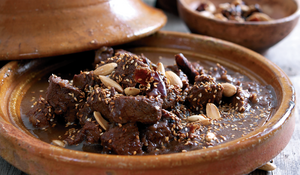 Spiced Lamb and Date Tagine