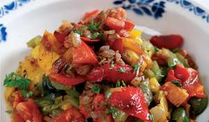 Mediterranean Pepper Salad | Quick Summer Recipe