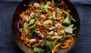 Quick Prawn and Broccoli Stir-fry Recipe | Eat Well For Less BBC 1