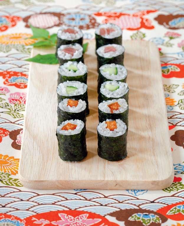 Natto Negi Maki (Natto with Chives Small Roll)