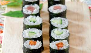 Natto Negi Maki (Natto with Chives Small Roll)