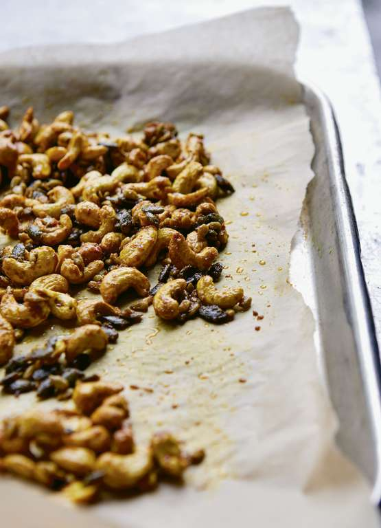 Sweet and Spicy Seeds and Nuts