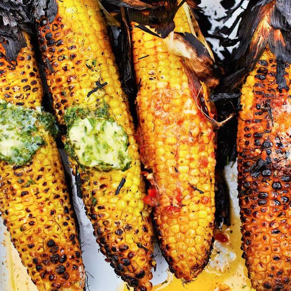 How To Cook Sweetcorn On The Bbq Barbecued Sweetcorn Recipe