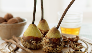 Maple Walnut Pears (for the rustly-leaf autumn months)