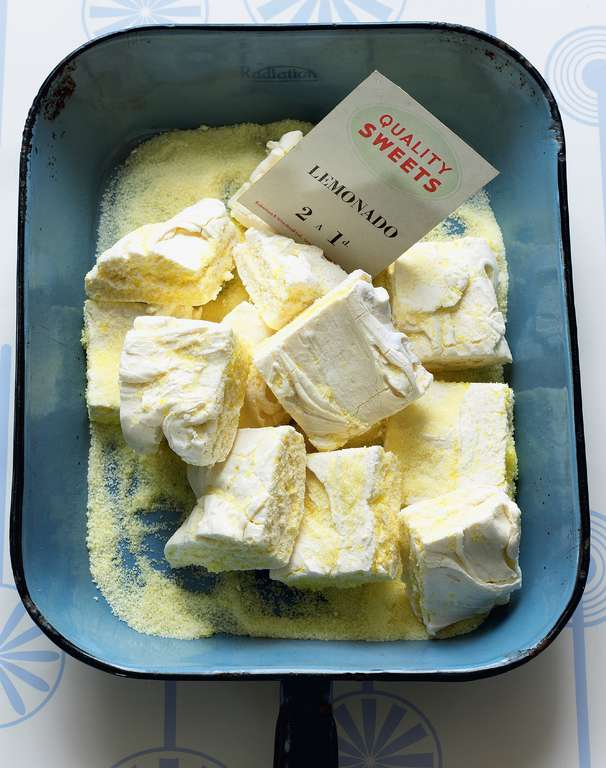Sherbet Lemon Marshmallows (for all my lemon-squeezing chums)