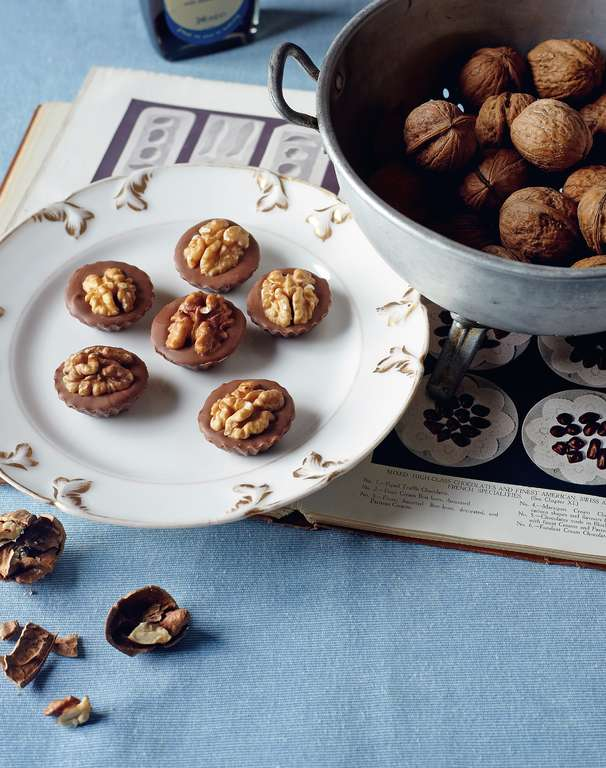 Coffee Walnut Whips (a grown-up version for licking)