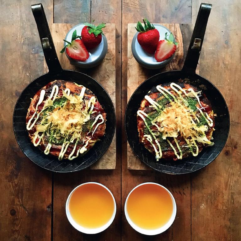 Okonomiyaki (Japanese Pancakes)