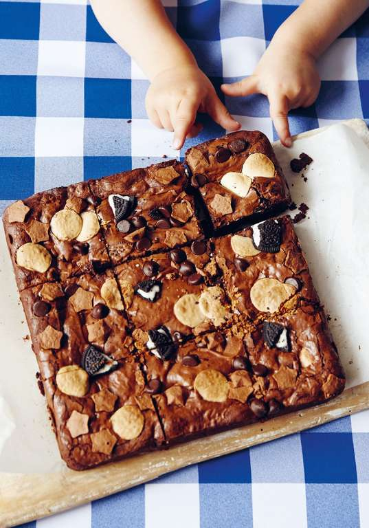 Jessie and Lennie Ware's 'Triple Threat' Chocolate Brownies