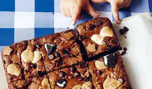 Table Manners Triple Threat Chocolate Brownie Recipe | Jessie Ware