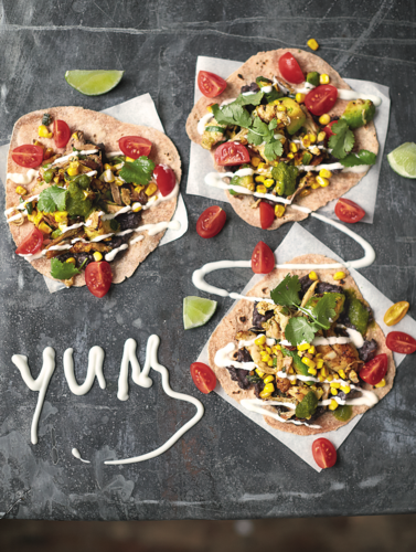 Jamie Oliver's Chicken Tacos from Super Food Family Classics