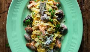Tagliatelle of wild mushrooms