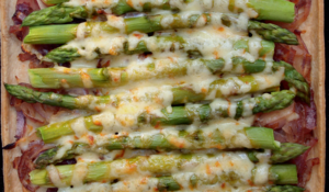 Seasonal Asparagus Tart Recipe for Spring & Summer | Mary McCartney