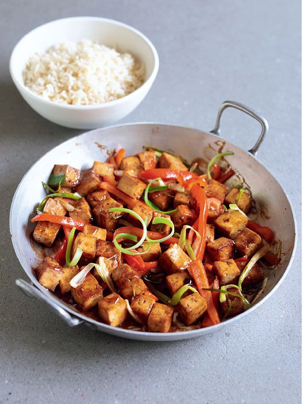 easy tofu recipes teriyaki tofu stir fry denise smart