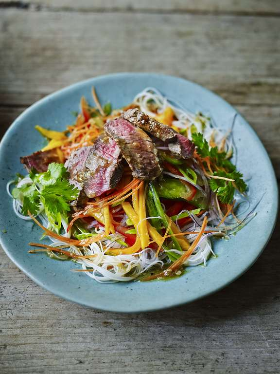 Thai Beef and Mango Salad