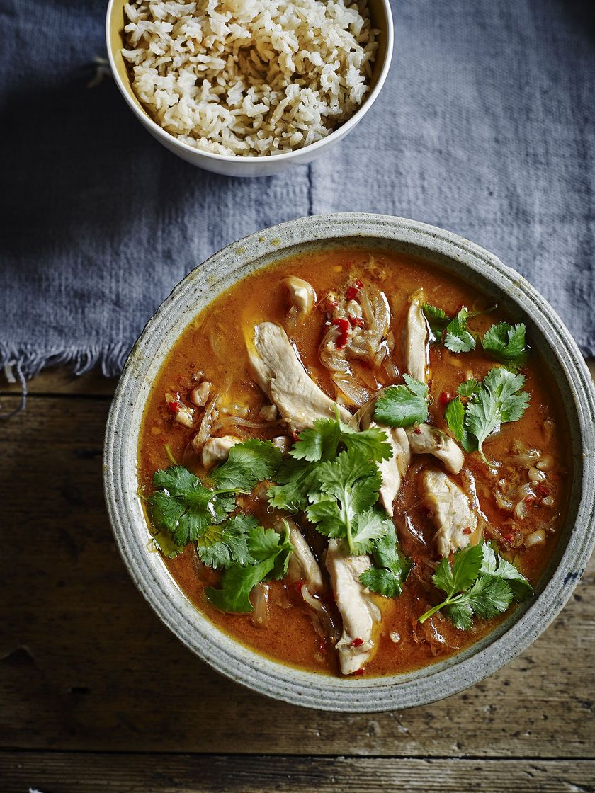 Chicken and Peanut Thai Curry