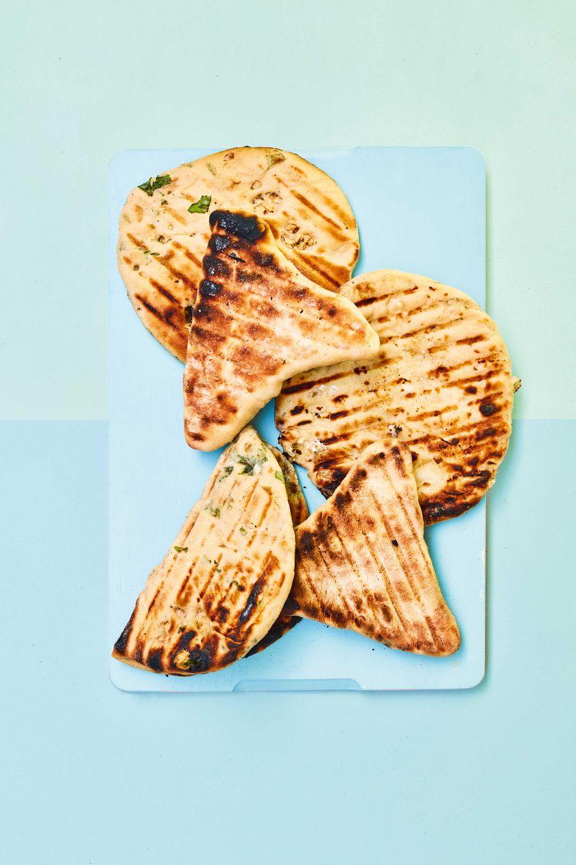 Easy Vegetarian Barbecue Recipe   Flatbreads