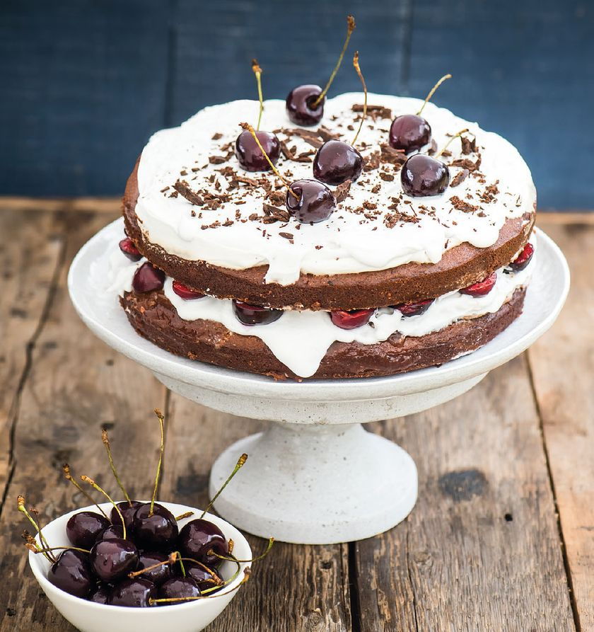 Vegan Black Forest Gateau | The Happy Pear