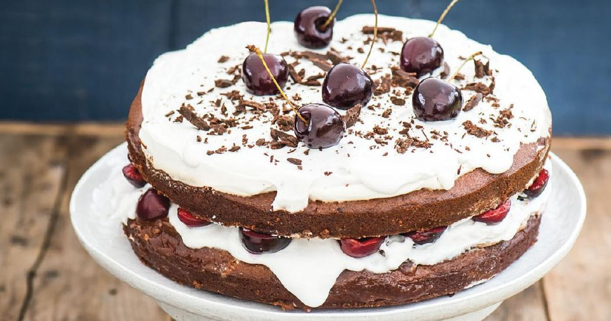 Black Forest G 226 Teau Recipe The Happy Pear