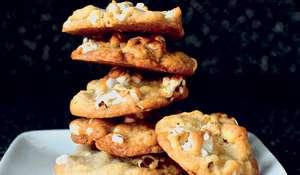 Buttered Popcorn Cookies | Easy Biscuit Recipe