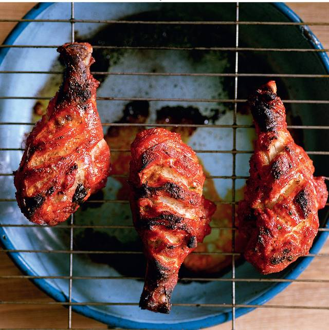Homemade Tandoori Chicken - The Happy