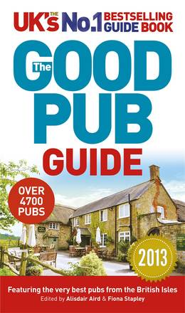 Cover of The Good Pub Guide 2013